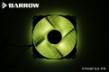 Вентилятор Barrow BF02-PR светодиодная подсветка RGB черный
