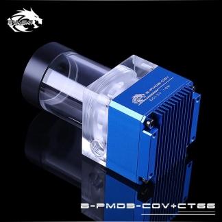 Помпа с резервуаром Bykski B-PMD3-COV+CT66 синий