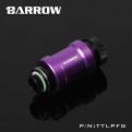 Кран запорный Barrow TTLPFG черный