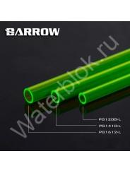 Твердая трубка Barrow PG1410-L PETG зеленая