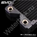Радиатор системы водяного охлаждения Bykski EVO EV-RD120-CU