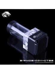 Помпа с резервуаром Bykski B-PMD3-COV+CT96 черная