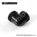 Фитинг угловой для жесткой трубки Barrow TWT90KNS-K14