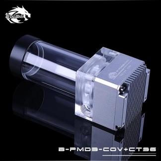 Помпа с резервуаром Bykski B-PMD3-COV+CT96 себро
