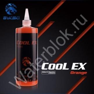 Охлаждающая жидкость Bykski COOL-EX UV пастельная оранжевая