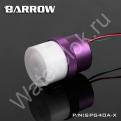 Помпа системы жидкостного охлаждения Barrow SPG40A-X фиолетовый