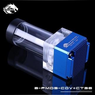 Помпа с резервуаром Bykski B-PMD3-COV+CT96 синяя