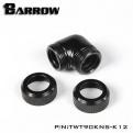 Фитинг угловой для жесткой трубки Barrow TWT90KNS-K12