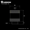 Фитинг удлинитель Barrow TNYZ-G20 v2