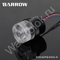 Помпа системы жидкостного охлаждения Barrow SPG40A-X черная
