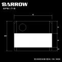 Помпа системы водяного охлаждения Barrow SPB17-S