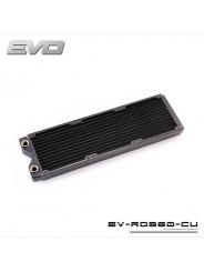 Радиатор системы водяного охлаждения Bykski EVO EV-RD360-CU