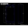 Радиатор системы водяного охлаждения Barrow Dabel-60A 240
