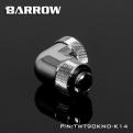 Фитинг угловой для жесткой трубки Barrow TWT90KND-K14