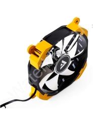 Вентилятор Barrow BF02-PR-D светодиодная подсветка желтый