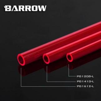 Твердая трубка Barrow PG1410-L PETG красная
