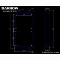 Радиатор системы водяного охлаждения Barrow Dabel-S 240
