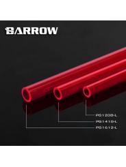 Твердая трубка Barrow PG1612-L PETG красная