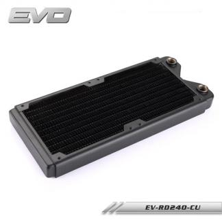 Радиатор системы водяного охлаждения Bykski EVO EV-RD240-CU