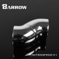 Фитинг угловой 90 градусов поворотный Barrow TWT90-V2.5
