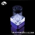 Помпа с резервуаром Bykski B-PMD3-COV+CT66 фиолетовый