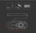 Необслуживаемая система водяного охлаждения видеокарты ID-Сooling Icekimo 240VGA