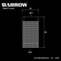 Фитинг удлинитель Barrow TBZT-A35