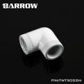 Фитинг угловой 90 градусов поворотный Barrow TWT90SSN