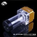 Помпа с резервуаром Bykski B-PMD3-COV+CT96 золото