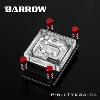 Водоблок процессора AMD Barrow LTYK3A-04 Socket AM4/FM2+/AM3
