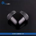 Фитинг угловой для жесткой трубки Bykski B-HTJ-DB90-V2