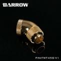 Фитинг угловой 45 градусов поворотный Barrow TWT45S-V1